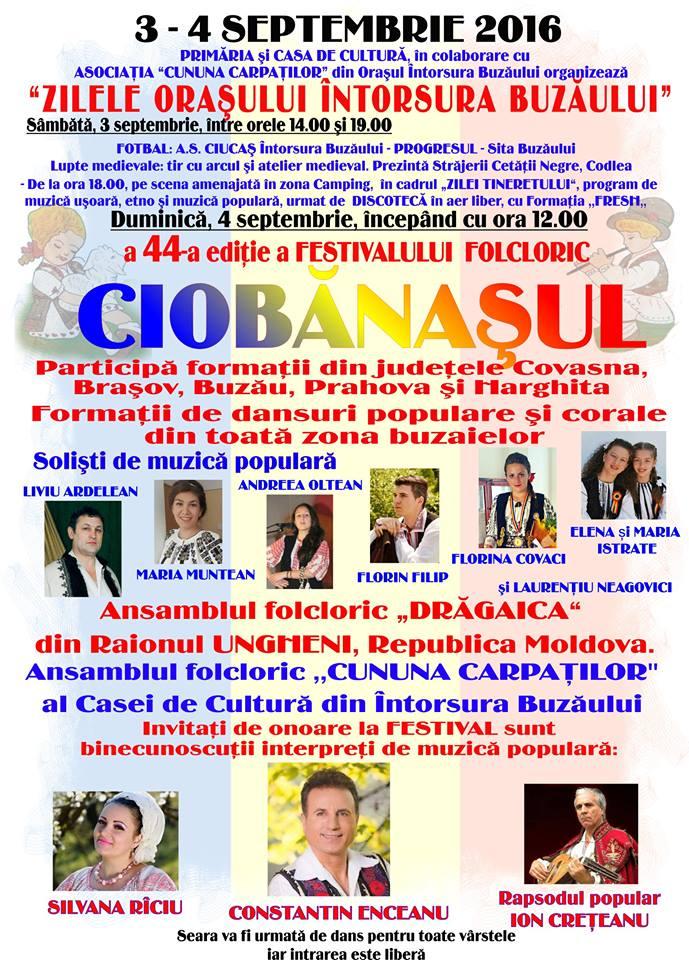 Festivalul folcloric Ciobanasul 2016